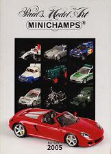 Paul's Model Art Minichamps Model Catalogue all Scales Diecast 2005 - Edition 1