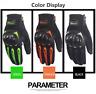 STOCK paio di guanti con protezione per moto KAWASAKI KTM YAMAHA