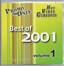 PROMO ONLY- DVD HOT VIDEO CLASSIC OF 2001 VOL. 1, Pink,N Sync,Shaggy,Linkin Park