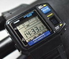 RARE! Vintage Timex 81741 Pulse Watch Split Memory 10 JAPAN NEW BATTERY!