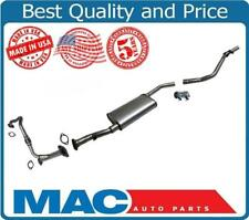 Exhaust System Pipe Muffler Fits For 00-02 Nissan Xterra 4 Wheel Drive 3.3L V6