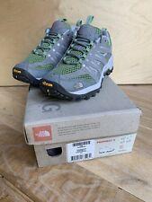 Womens Girls The North Face Hiking Walking Grey/ Green Shoes UK 4 EUR 36.5 VGC!