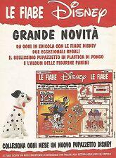 X0856 La Carica dei 101 - Le fiabe Disney - Pubblicità del 1995 - Advertising