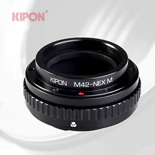 Kipon Macro Adapter with Helicoid Tube for M42 Screw Lens to Sony E Camera NEX