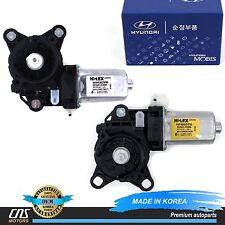 GENUINE Power Window Motor Front Left & Right Fits 03-08 Tiburon OEM 82450-2C000