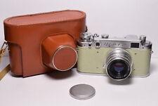 FED 2 (type b) Beige body Soviet 35mm Rangefinder Camera, Industar-26m (2.8/50)