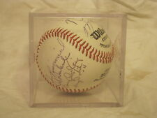 autographed baseball Wilson A1010 HS1 team? Mike Williams?? M. signature  ball