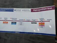 More details for genuine metropolitan line carriage diagram,full length part no: 28124/18707.11