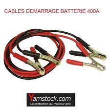 Cables de demarrage 400 A voiture auto 12 24 V cable de 3 mètres