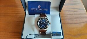 Gents Revue Thommen Divers automatic. blue dial watch.Full set  (superb)