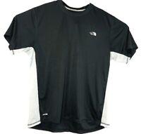 The North Face Mens Shirt Sleeve Base Layer XL Grey White Vapor Wick A4