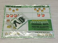 Feed The Alligator- Set of 6 Learning Mats /35 Cards - Laminated Activity