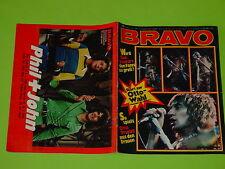 BRAVO NR. 46 von 1972 - COVER ROD STEWART - KOMPL. mit STARSCHNITT-ANKÜNDIGUNG