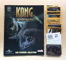 ALBUM DI FIGURINE NEW LINKS - KONG 2005 - + SET DI FIG. DA EDICOLA -COMPLETE NEW