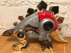 Vintage Takara G1 Transformers 1984 Diaclone Dinobot Snarl Stegosaurus Dinosaur
