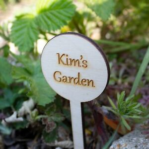 Personalised Garden Sign, Vegetable Patch Marker, Gardener Gift