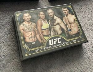 Topps UFC 2017 Museum Collection Sealed Hobby Box w/ 2 autographs & memorabilia