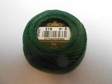 """DMC Perle 5 Cotton 10g Ball Green """"319"""""""