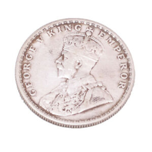 Rare Antique George V 1919 King & Emperor Pure Silver One Rupee Coin 11 Grams
