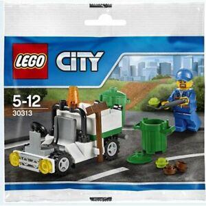 Lego 30313 City Garbage Truck Polybag - Rare 2015