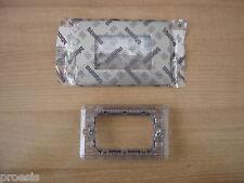 BTICINO Matix AM4803TA placca titanium 3 moduli + supporto 503SA