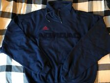 Gosha Rubchinskiy x Adidas Sweat Top sweater crewneck cowl neck navy