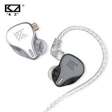 KZ DQ6 3DD New-level HIFI Dynamic Headset Noise Reduction Earbud In-ear Earphone