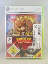 Xbox 360 - Lego Indiana Jones / Kung Fu Panda Bundle Copy NEW SEALED