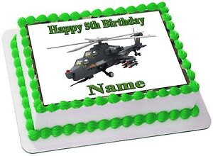ARMY TANK TOYS  Edible  CAKE TOPPER PARTY IMAGE FROSTING SHEET