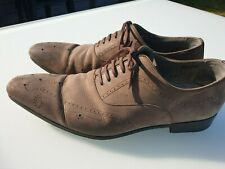 chaussures ZAMPIERE nubuck richelieu 44  valeur 225€