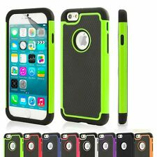 Dual Layer Shockproof Case Cover Apple iPhone Models