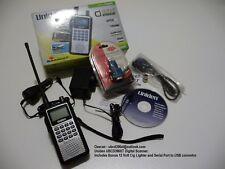 Uniden UBCD396XT Digital Scanner Phase 1 P25 CFA RFS EDACS GRN Motorola Systems