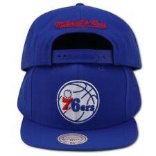 Philadelphia 76ers Mitchell & Ness NBA Snapback Hat XL Big Logo Sixers Blue Cap