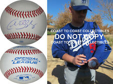 Chad Billingsley Los Angeles Dodgers LA signed autographed baseball COA Proof