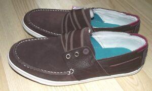 Tretorn Unisex Brown Boat Shoes Slip On