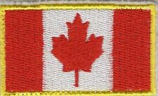 Badge Canadian Banner Flag National Canada Patch Applique Clothing Limited
