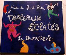 NIKKI DE SAINT PHALLE/TABLEAUX ECLATES/ED LA DIFFERENCE/1993/TINGUELY