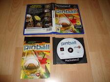PLAY IT PINBALL SIMULADOR DE PINBALL DE ASTROLL PARA LA SONY PS2 USADO COMPLETO