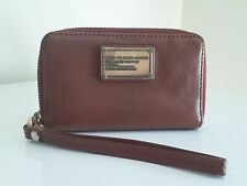 Vintage MARC BY MARC JACOBS Brown Leather Coin Purse / Zip Wallet