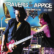 PAT TRAVERS & CARMINE APPICE New Sealed 2017 LIVE CONCERT DVD & CD SET