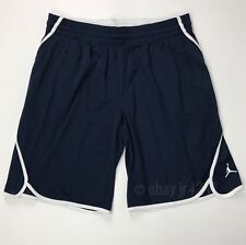 c1639e96d3cea5 New Nike Men s L Team Flight Jordan Woven Lightweight Basketball Shorts Navy