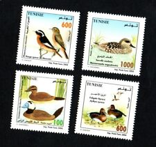 2004- Tunisia- Tunisie- Birds of Tunisia- Oiseaux de Tunisie-Compl.set 4v.MNH**