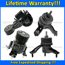 0758 Motor & Trans Mount 4pc Set for 2004-2006 Toyota Sienna 3.3L 2WD