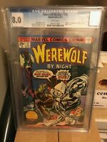 Werewolf By Night 32 First Appearance of Moon Knight CGC 8.0