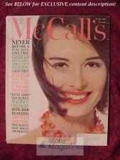 MCCALLS June 1960 MAURICE CHEVALIER WALTER WINCHELL Abigail Dear Abby Van Buren