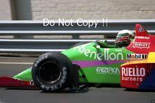 Teo Fabi Benetton B187 Detroit Grand Prix 1987 PHOTO 1