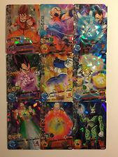 Dragon Ball Heroes H1 Super Rare Set 9/9