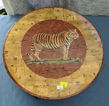 Tiger Hat Box Animal Print Chad Barrett 2002 Art in Motion