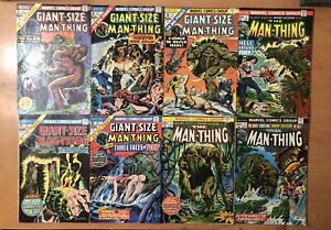 Man Thing Comic Lot 58 Issues