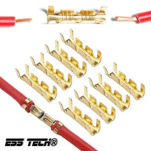 Connecteur rapide Fiche metal raccordement fil sans soudure terminal 0.3-1.5mm2